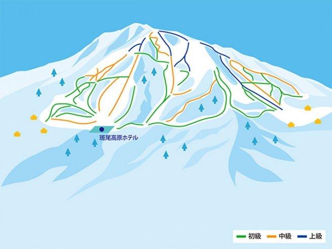場 スキー 斑尾 高原