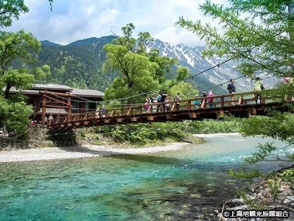 上高地河童橋イメージ