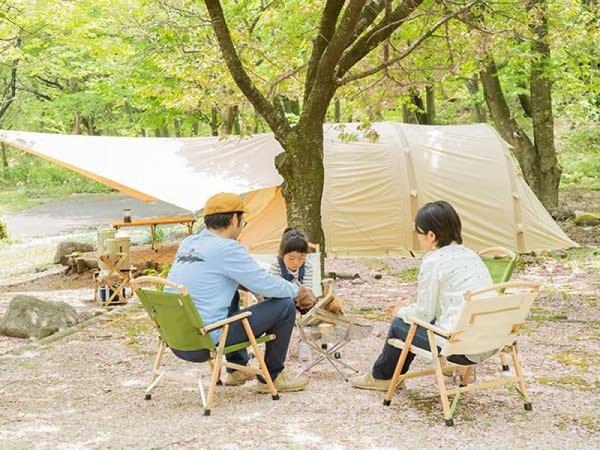 【星取県-鳥取県≪緑水湖オートキャンプ場≫】満点の星空が見れる手ぶらでキャンプ1泊2日プラン!イメージ
