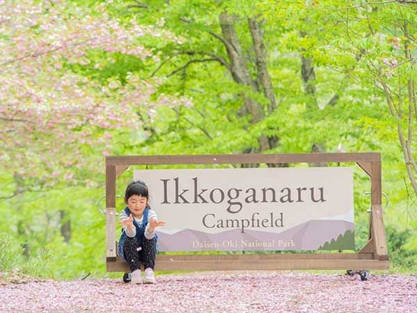 【鳥取県-大山隠岐国立公園内≪一向平キャンプ場≫】手ぶらでキャンプ1泊2日プラン!イメージ