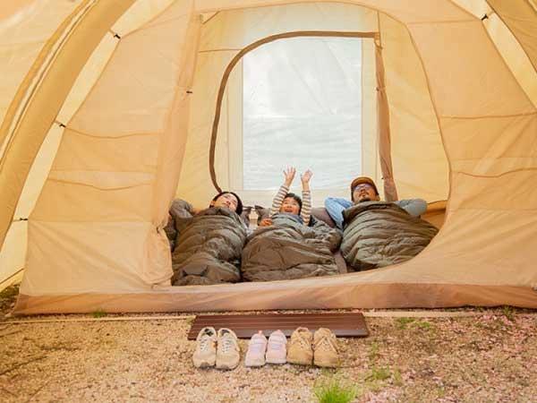 【星取県-鳥取県≪緑水湖オートキャンプ場≫】満点の星空が見れる手ぶらでキャンプ2泊3日プラン!イメージ