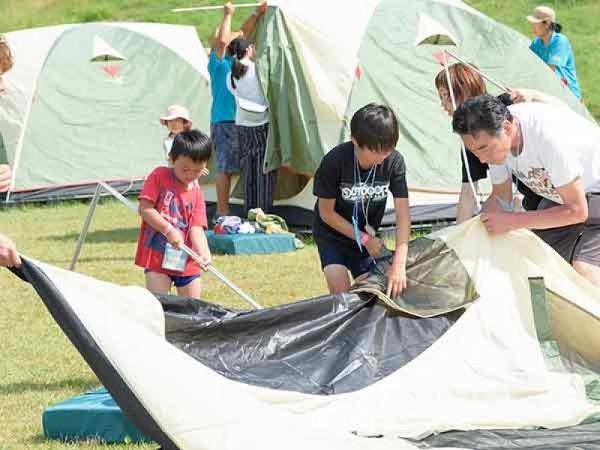 キャンプのツアーイメージ