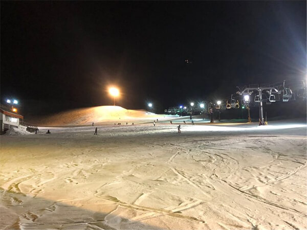 竜王スキーパーク ナイター